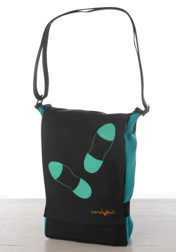 Turquoise bag shoes