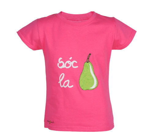 T-shirt with a pear (Mc)