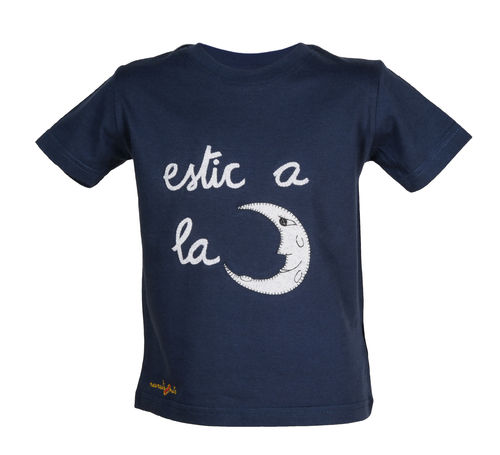 T-shirt with a moon