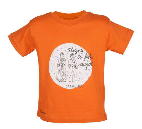 T-shirt with gigants