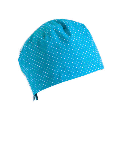 turquoise oncological hat